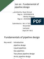 Fundamentals of Pipeline Design