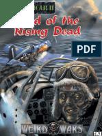 Weird War II Land of the Rising Dead