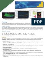 Mining Course Program - PT. Stania Bara Consulting