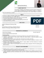 Arnab Mandal Resume