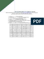 Digestive Crossword
