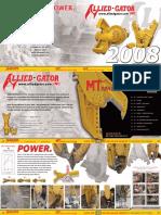 2008 Allied-Gator ProdGuide
