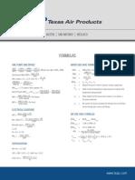 HVACR Formulas and Symbols