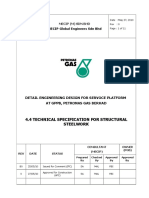 4.4 Technical Specification for Structural Steelwork