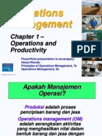 36455_Bab I Operasi Dan Produktivitas
