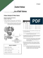 Failure Analysis of Ball Valves