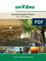 Rain Bird Agricultural Products Catalog 2011 - 2012