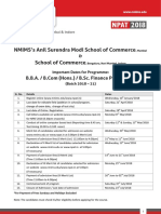 Npat School of Commerce 2018