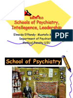 K13 - Schools of Psychiatry, Intellegence, Leadership