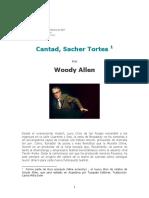 Allen Woody - Cantad Sacher Tortes