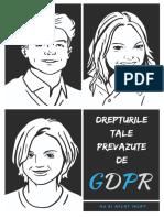 Drepturile Prevazute in GDPR