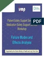 ISMP Canada FMEA Presentation