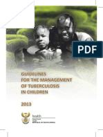 National Childhood TB Guidelines 2013