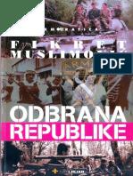 Fikret Muslimović - Odbrana Republike