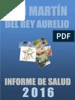 Informe de salud de 2016 de San Martín del Rey Aurelio