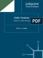 Adam J. Ledger Auth. Odin Teatret Theatre in a New Century