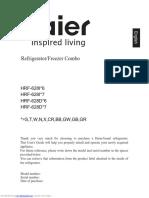 Install Guide SubZero 500 refrigerator | Door | Valve on