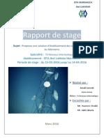 Projet de fin Formation OCP  (l'étude et choix de la liaison entre Les bâtiments à l'aide de Faisceaux Hertzien)