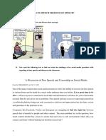 material planning-social media freedom