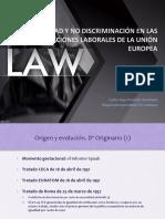Igualdad y No Discriminacion