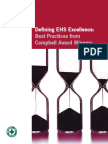 Defining HSE Excellence