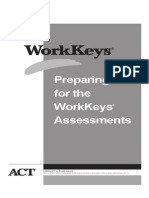 Preparing for the WorkKeys Assessments