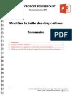 Microsoft PowerPoint - Modifier La Taille Des Diapositives
