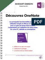 Microsoft OneNote - Manuel d'Utilisation