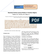 Nasofacial Indices among Children in Southern Nigeria.pdf