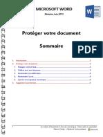 Microsoft Word - Protéger Un Document