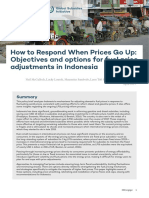 How to Respond When Prices Go Up Indonesia