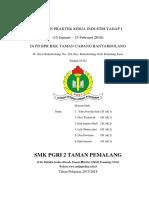 Laporan Pkl Pd Bpr Bkk Taman Cabang Bantarbolang