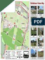 Schoenbrunn Vienna Map