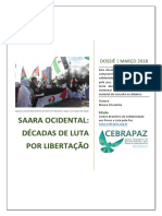 Dossiê - Saara Ocidental - Décadas de Luta Por Libertação - CEBRAPAZ