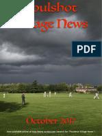 Poulshot Village News - October 2017