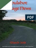 Poulshot Village News - March 2018