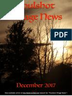 Poulshot Village News - December 2017