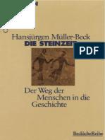 H. Mueller-Beck - Die Steinzeit (Beck-Wissen) 1998.pdf