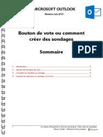 Microsoft Outlook - Bouton de Vote Ou Comment Créer Des Sondages