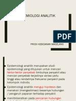 Epidemiologi Analitik