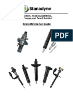 Stanadyne Nozzle and Holders Cross Reference