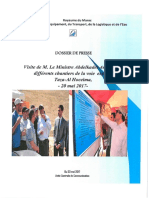 Dossier Presse Visite Ministre Voie Express Taza AlHoceima 20052017