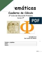 4º PRIMARIA. CUADERNO DE CÁLCULO 2012.doc