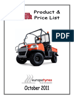 Tyres OTR Product Book October 2011