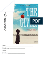 the giver  week 4 booklet