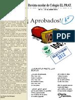 Revista Escolar Colegio El Prat n11