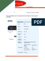 Proforma Equipo Multimedia