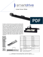 LSS Linear Screw Slides