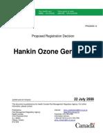 Hankin Ozon Generator