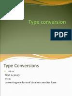 3Type Conversion
